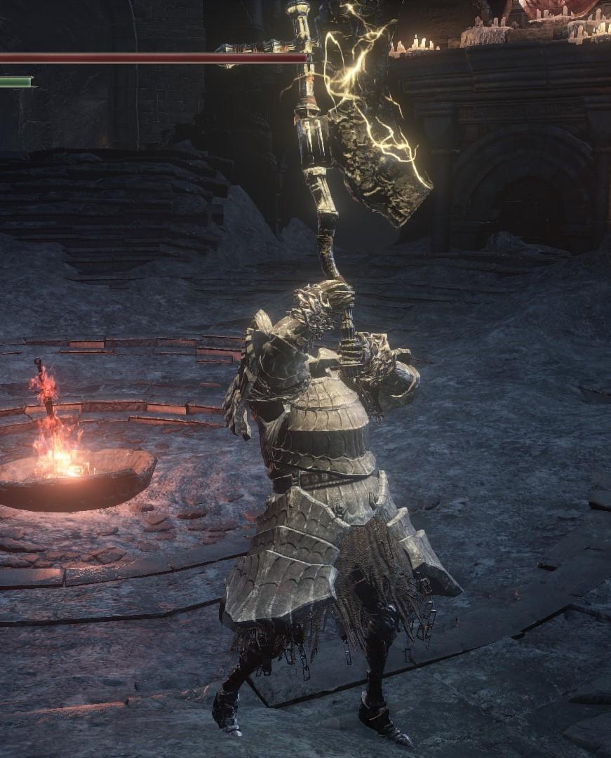 ダークソウル3:やっぱり両手斧でいきます
